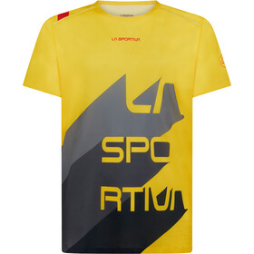 La Sportiva Stream T-Shirt Heren, yellow/carbon